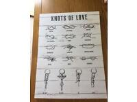 Canvas - knots of love