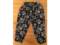 TU tiger summer trousers, age 2-3