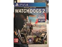 Watchdogs 2 deluxe edition ps4