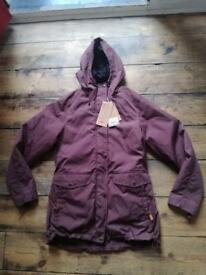 Brand new with tags ladies Fjallraven Ovik parka 3 in 1 size M