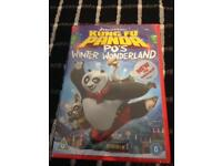 DVD Kung fu panda pod winter wonderland
