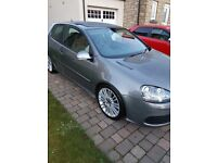 Vw Golf Mk5 R32 with Factory Wingback Recaro Seats Full Service History