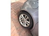 17inch corsa alloys with sport tyres