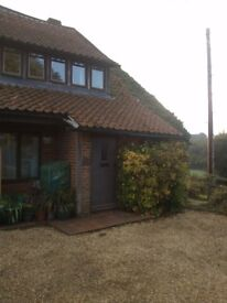 1 Bedroom Flat in Converted Farm in Longwood Near Winchester