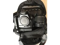 Canon 1100d full kit with Canon bag + battery grip