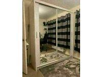 🔵💖🔴AMAZING DISCOUNT SALE ON🔵💖🔴BERLIN 2 DOOR SLIDING WARDROBE FULL MIRROR -