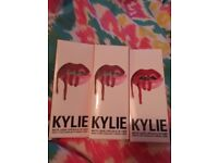 Kyle liquid lipstick and lip liner