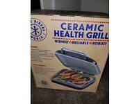 Ceramic health grill