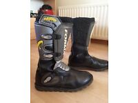 Trails Motorcycle boots size Euro 47