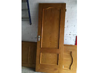 Internal Doors x 4 - Pine
