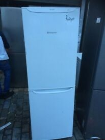 Hotpoint (Stf175wp) new model frost free Fridge Freezer good working condition (4 months warranty)