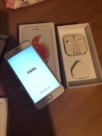 Rose Gold iPhone 6s Plus 64gb O2