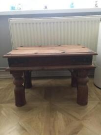 Solid Sheesham side table- collect po15