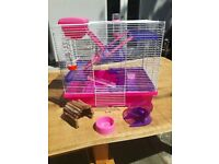 Rosewood hamster cage