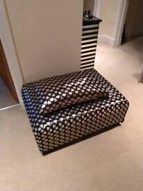 Luxury Footstool SOLD