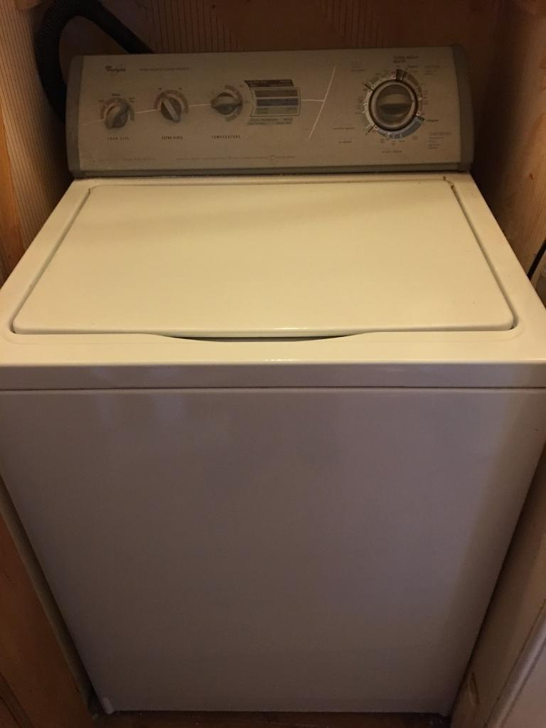 Hotpoint Top Loading Washing Machine Reduced For Quick Sale Whirlpool Top Loader American Style