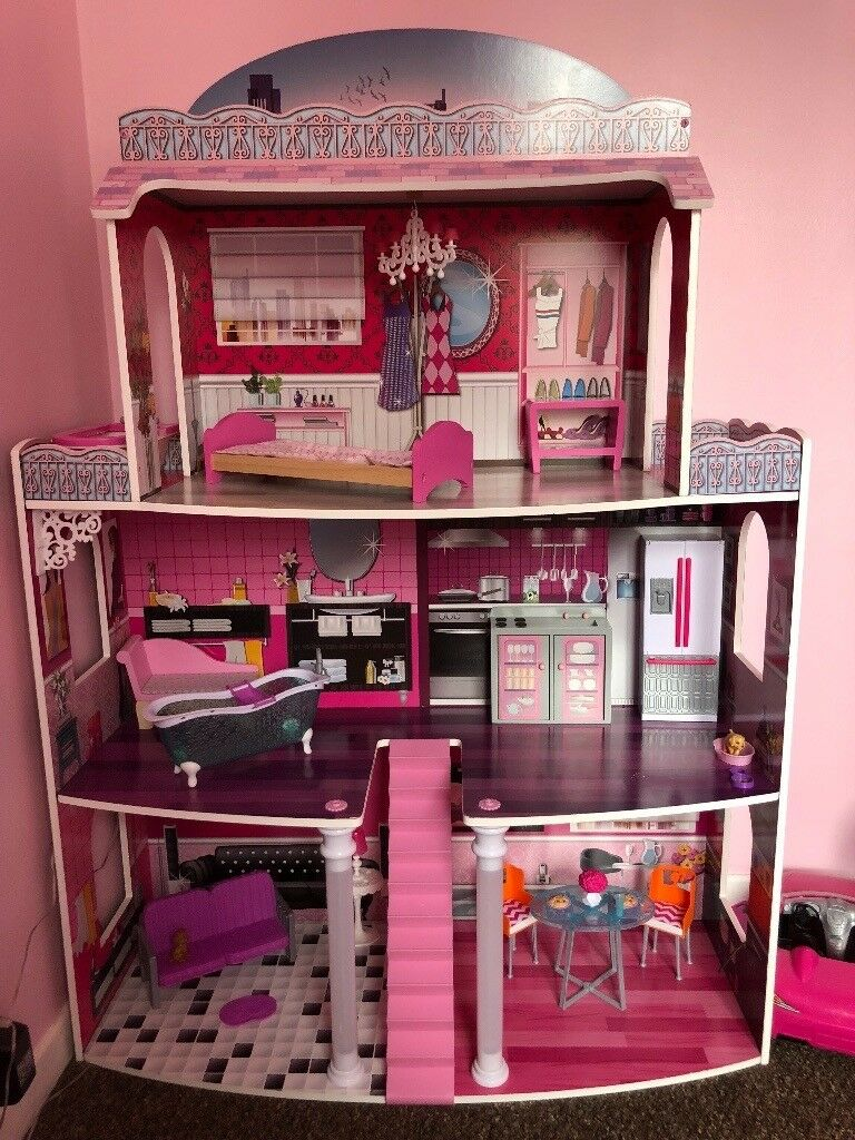 Barbie Dolls House And Accessories In Plymouth Devon Gumtree