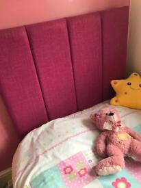 Good Quality Single Bed in Pink