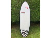 Skindog surfboard and board bag