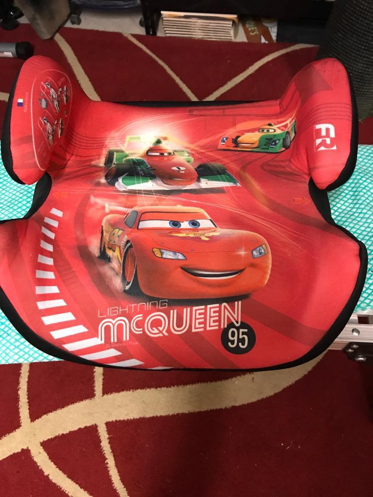 Lightning McQueen Kids Car Booster Seat