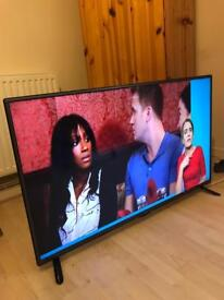 """LG 42"""" led Freeview very slim telly mint condition"""