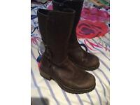 Clark's brown leather size 7 1/2