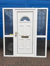 Used Upvc Front Door In Good Working Condition