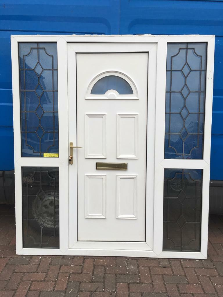 Used Upvc Front Door In Good Working Condition