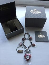 Vivienne Westwood Heart Women's Quartz Watch - Brand New Unworn
