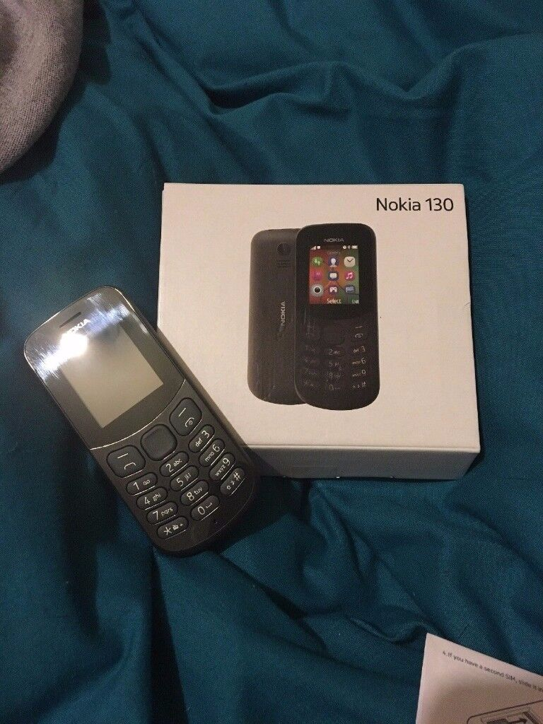 Nokia 130 - Black (Unlocked) Mobile Phone Brand
