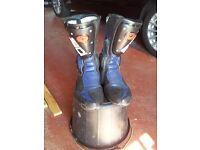 Sidi motorcycle boots size 9uk/43eu