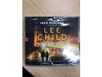 Night School by Lee Child CD Audio 2016