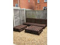 Garden furniture euro pallets for garden