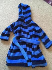 Boys M&S dressing gown aged 1.5-2 years