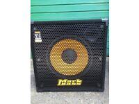 "MARKBASS 15"" SINGLE SPEAKER CAB - STD 151 HR WITH CUSTOM MADE COVER"