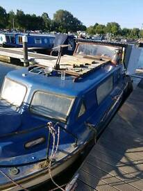 Norman 22 Cabin cruiser boat with 9.9 Yamah outboard fully insulated *** reduced £1500