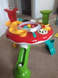 ELC lights and sounds activity table
