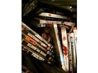 Big bundle of dvds lots of action films