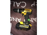Fully working dewalt cordless drill no charger