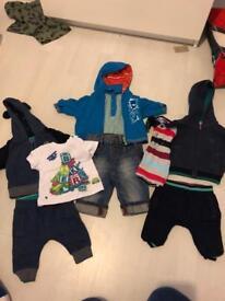 Ted Baker 0-3 months boys clothing bundle