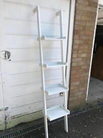 Habitat White Ladder Shelf