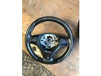 BMW e90 m sport steering wheel