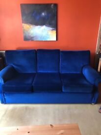 Two sofas, armchair and stool