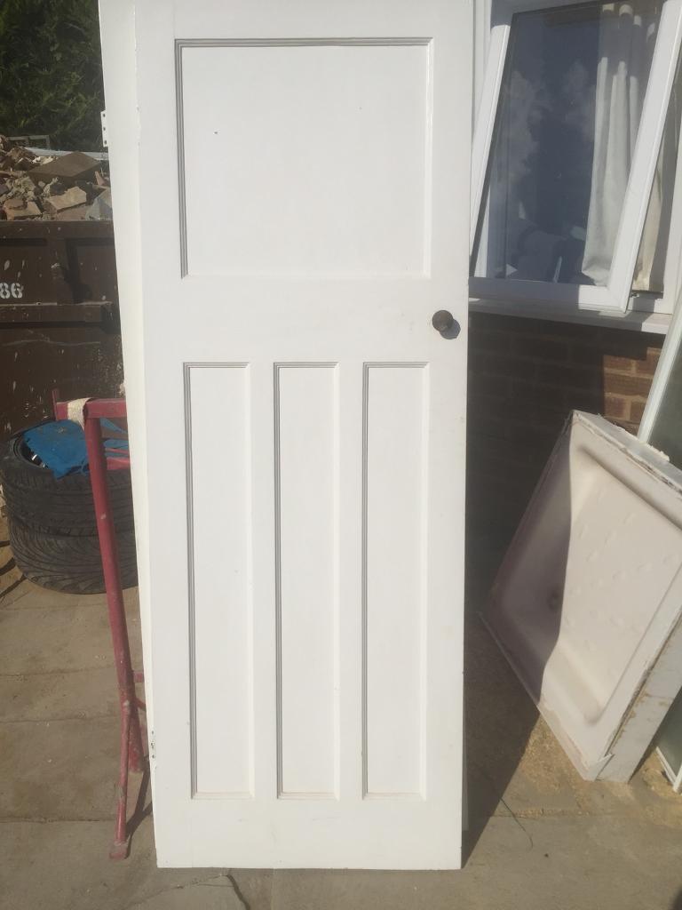 2x Original 1930s Interior Doors In Cheltenham Gloucestershire