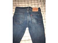 Men's Levi's jeans .