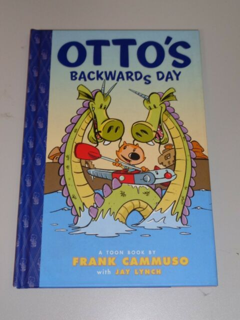 Otto's Backwards Day Toon Books (Paperback)< 9781935179337