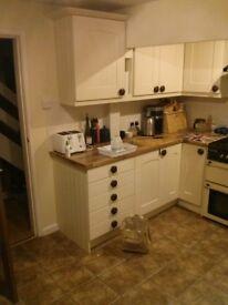 Full set of kitchen units - good quality