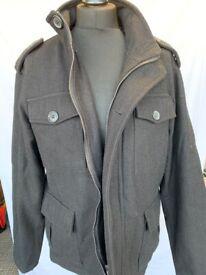 Mens Grey Jacket