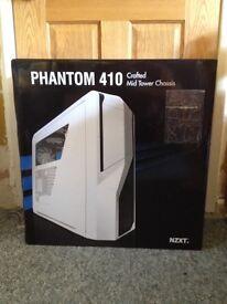 NZXT Phantom 410 Mid-Tower PC Case (White) (NEW)