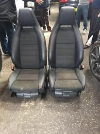 Mercedes A class 2017 front seat pair